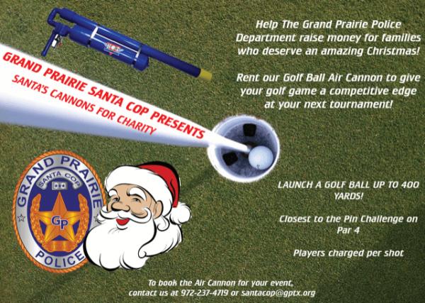 Grand-Prairie-Santa-Cop-Golf-Ball-Air-Cannon-1